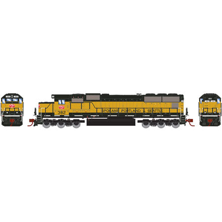 Athearn 7333 N Spokane, Portland and Seattle SD70 Diesel Locomotive #382