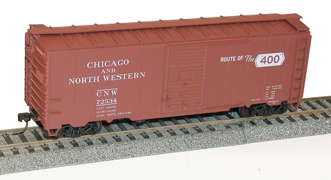 Accurail 3551 HO Chicago and North Western 40' AAR Single Door Boxcar