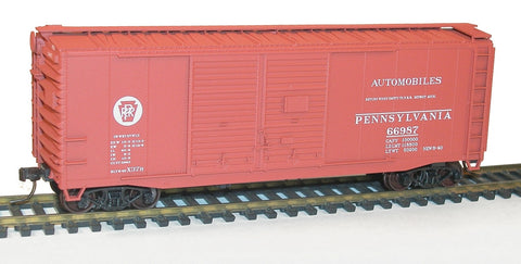 Accurail 3639 HO Pennsylvania 40' AAR Dbl Door Steel Boxcar
