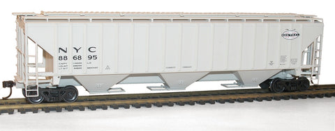 Accurail 6530 HO New York Central 3-bay Covered Hopper