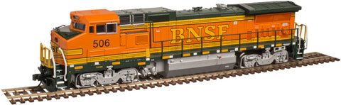 Atlas 40003033 N BNSF DASH 8-40B Diesel Locomotive with DCC #526