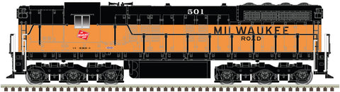 Atlas 40003681 N Milwaukee Road SD-7 Diesel Locomotive with DCC #501