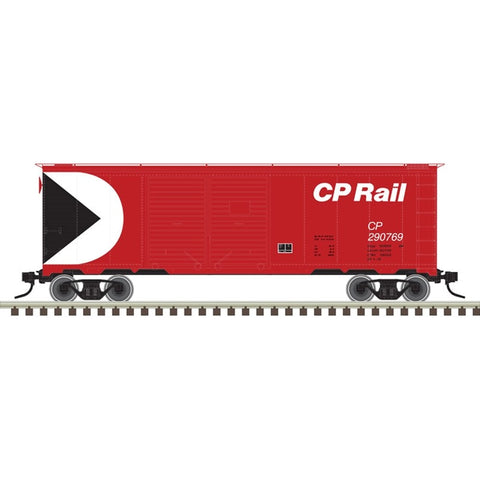 Atlas 50003643 N Canadian Pacific Trainman® 40' Double Door Box Car #260428