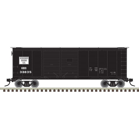 Atlas 50003647 N Hoboken Shore Trainman® 40' Double Door Box Car #38835
