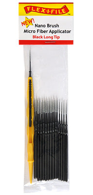 Creations Unlimited N934002 Nano Brush Long Tip Black (24)