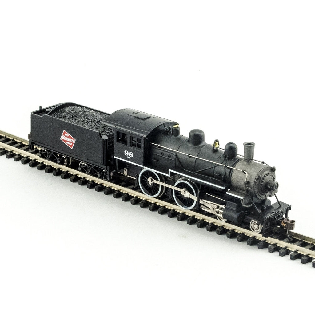Model Power 87639 N Milwaukee Road 4-4-0 American - DCC Ready