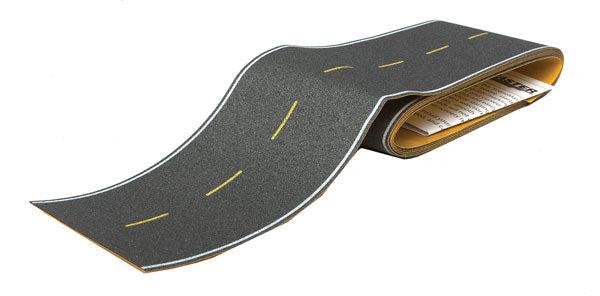 Walthers 949-1251 HO Flexible Self-Adhesive Paved Roadway - Modern Highways