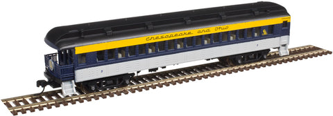 Atlas 50003821 N Chesapeake and Ohio Trainman® ACF® 60' Observation Car #5