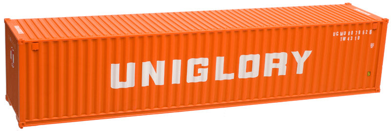 Atlas 50003858 N Uniglory 40' Standard Height Container Set #1