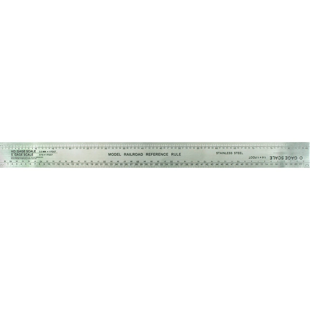 "Excel 55777 12"" Scale Model Railroad Ruler"
