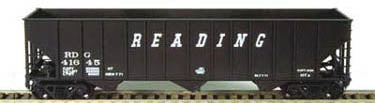 "Bowser 41745 HO Reading ""Speed Lettering"" 100 Ton Hopper Car Ready-To-Run #41705"