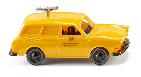Wiking 004202 HO Radio Test Vehicle - Volkswagen 1600 Variant