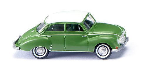 Wiking 012001 HO DKW - Green with White Roof