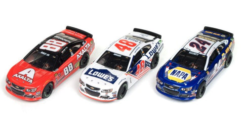 Auto World 333 HO Super III Nascar Stock Slot Car Assortment - Series #4 (12)