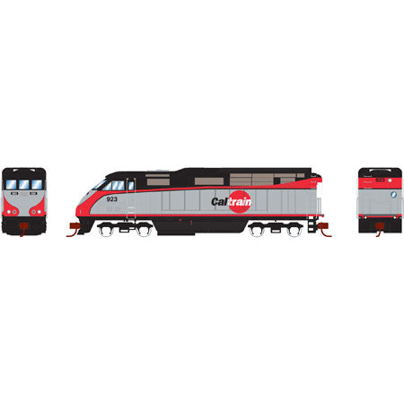 Athearn 6784 N Cal Train F59PHI Diesel Locomotive with DCC and Sound #924