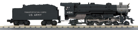 MTH 30-1750-1 O-27 US Army Imperial 4-6-2 Pacific with PS-3 #496