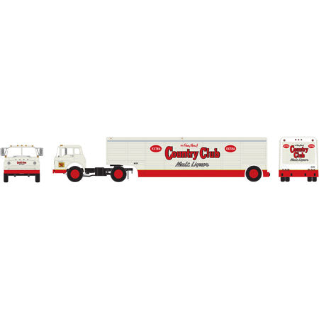 Athearn 91850 HO Country Club Ford C with Beverage Trailer