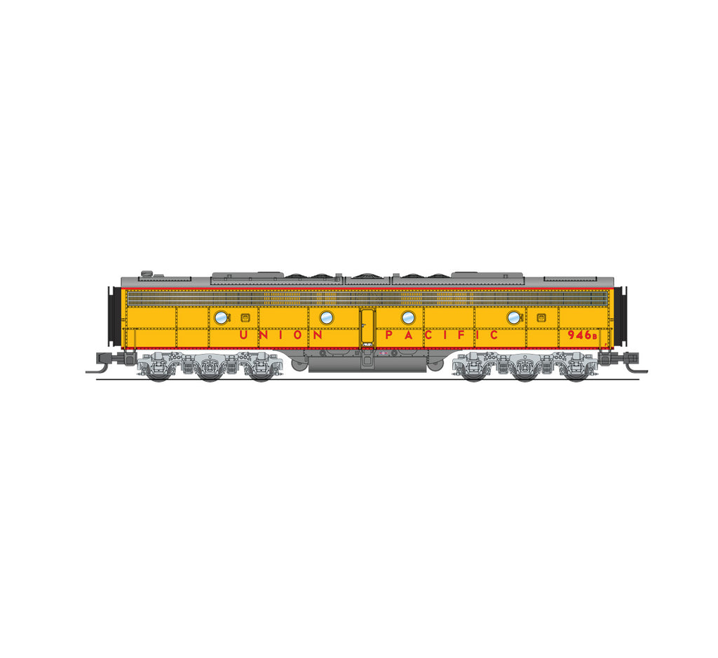 Broadway Limited 3629 N Union Pacific EMD E9 B-Unit Diesel Loco Paragon3 #950B