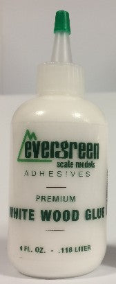 Evergreen Scale Models 835 White Wood Glue Refill 4oz