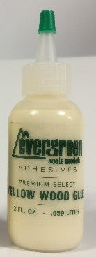 Evergreen Scale Models 825 Yellow Wood Glue Refill 2oz