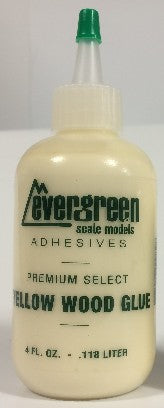 Evergreen Scale Models 845 Yellow Wood Glue Refill 4oz