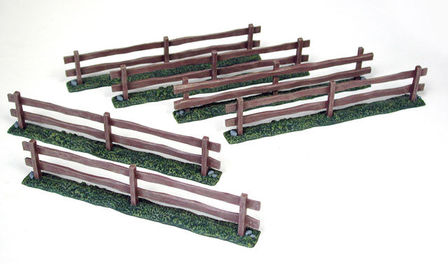 Pegasus Hobby 5201 Prepainted Wooden Fences