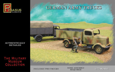 Pegasus Hobby 7610 1:72 German Army Truck Snap (2)