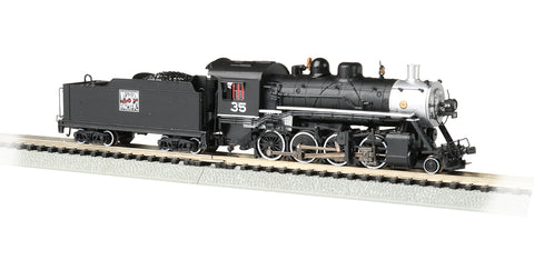 Bachmann 51351 N Western Pacific 2-8-0 Consolidation with Sound #35
