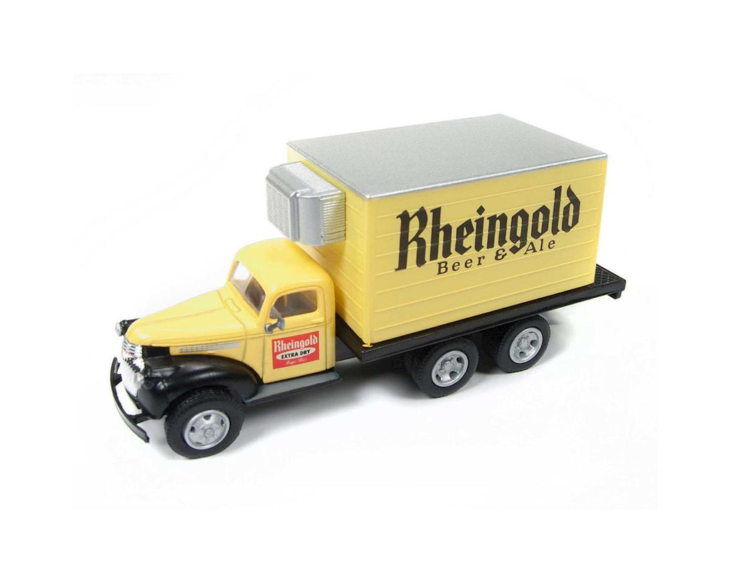 Classic Metal Works 30505 HO Rhiengold Beer Chevy Reefer Box Truck 1941-1946