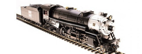 Broadway Limited 5560 HO Western Pacific 2-8-2 Heavy Mikado with Sound #318