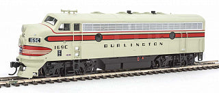 Walthers 19912 HO Chicago, Burlington & Quincy EMD F7A #169C