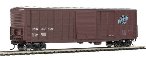 Walthers 910-2323 HO Chicago & North Western™ 50' Waffle-Side Boxcar Ready-To-Run #160406