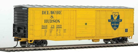 Walthers 910-2326 HO Delware & Hudson 50' Waffle-Side Boxcar Ready-To-Run #24053