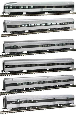 Walthers 910-B30011 HO Canadian National Streamlined Passenger Set (6)