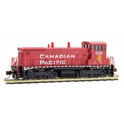 MicroTrains 98600131 N Canadian Pacific SW1500 Powered Locomotive #1299