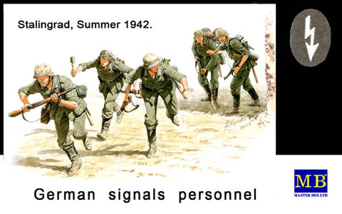 Master Box Models 3540 1:35 German Signals Personnel Stalingard Summer 1942