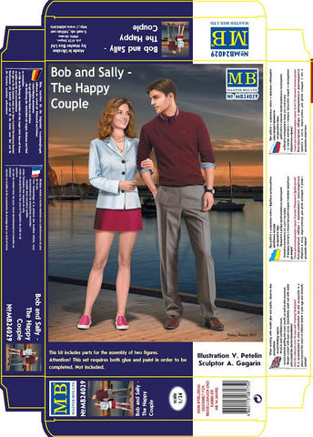 Master Box Models 24029 1:24 Bob and Sally The Happy Couple