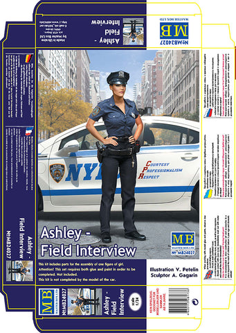 Master Box Models 24027 1:24 Dangerous Curves Series Ashley Field Interview