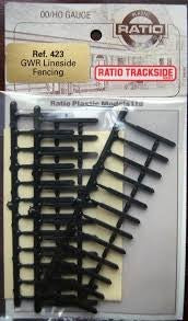 Plastic Ratio Models 423 GWR Lineside Fencing