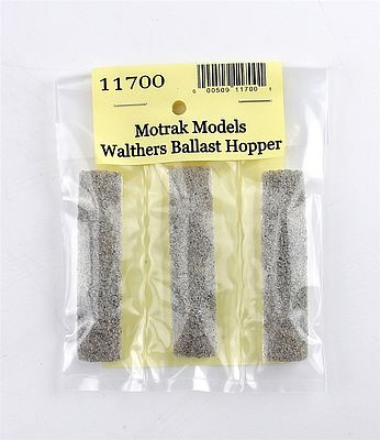 Motrak Models 11700 N Resin Gravel Loads Walthers Difco Dump Car