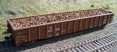 Motrak Models 81514 HO Scrap Metal Load for ExactRail 2244 Gondola