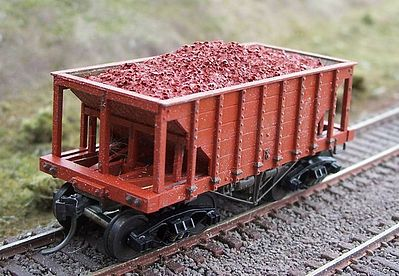 Motrak Models 81660 HO Resin Ore Loads for Tichy Ore Car (2)