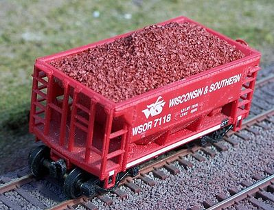 Motrak Models 81709 HO Resin Ore Load for Walthers Minnesota Ore Car (2)