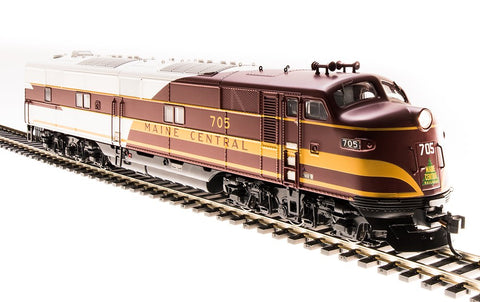 Broadway Limited 5413 HO Maine Central EMD E7 A-Unit Diesel Loco Paragon3 #706