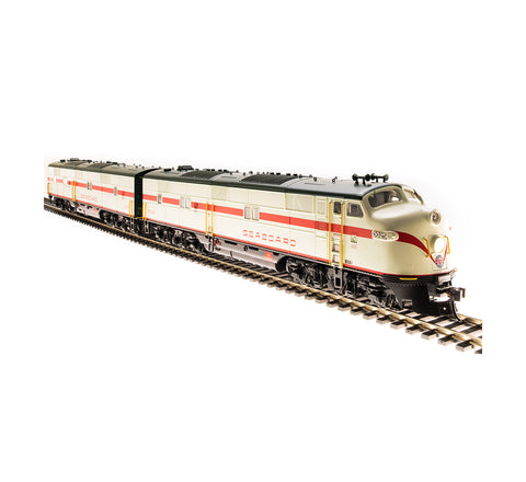 Broadway Limited 5417 HO Seaboard Air Line E7 AB A-Unit Diesel Loco #3025/3107