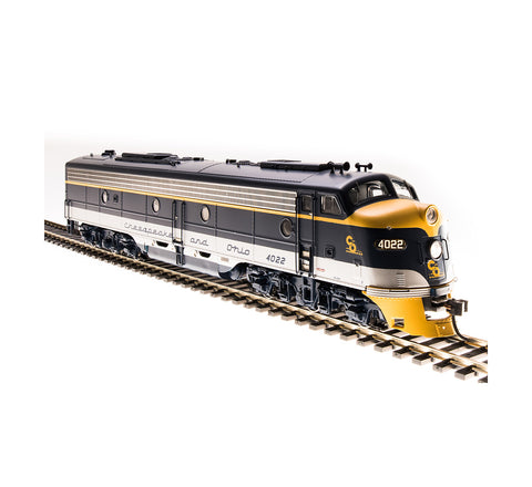 Broadway Limited 5432 HO Chesapeake & Ohio EMD E8 A-unit Paragon3 #4026