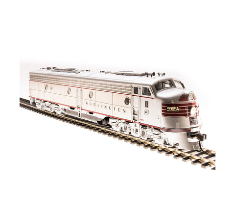 Broadway Limited 5430 HO Chicago, Burlington & Quincy EMD E9 A-unit #9985-B