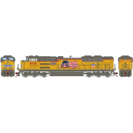 Athearn G68895 HO Union Pacific SD70ACe with DCC & Sound #8725