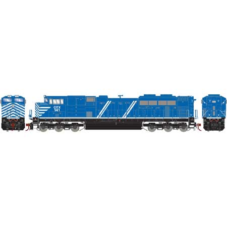 Athearn G69365 HO CITX SD70M-2 with DCC & Sound #141