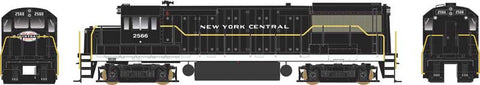 Bowser 24536 HO New York Central U-25B Phase IV Diesel Loco Standard DC #2563